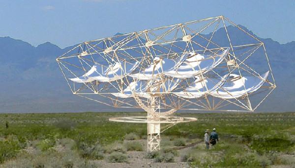 Новый высокоэффективный и недорогой концентратор, работающий на солнечной энергии