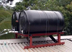 Стальные бочки в качестве емкости для нагревания воды