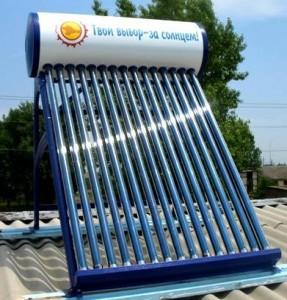 Сделать солнечный водонагреватель своими руками