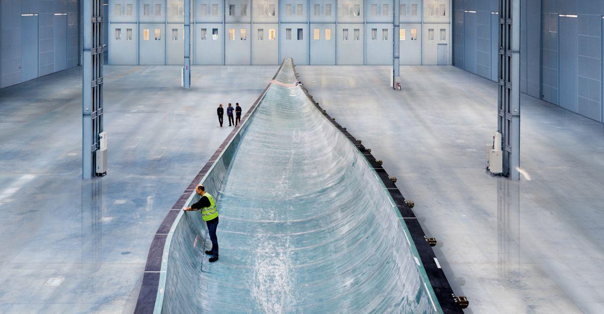 Siemens строит самую большую в мире лопасть ветротурбины для новых ВЭС Великобритании