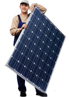 Комплектующие бытовой электросети на основе солнечных батарей
