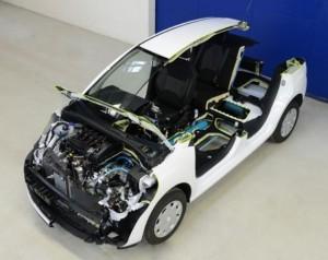 Peugeot Citroën разработали новый гибридный автомобиль по технологии «Hybrid Air»