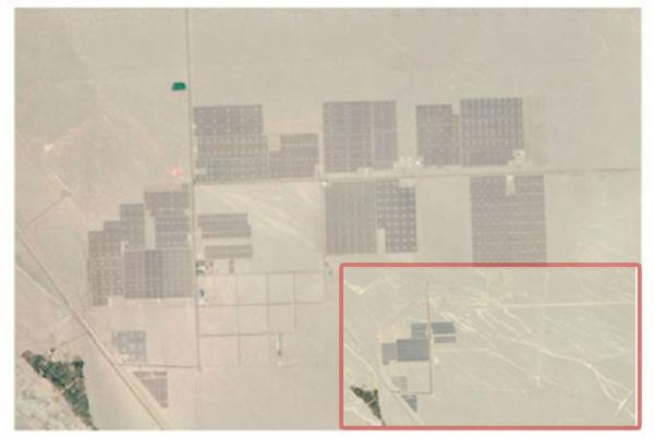 Спутники НАСА показывают, как солнечные панели захватывают пустыню Гоби в Китае