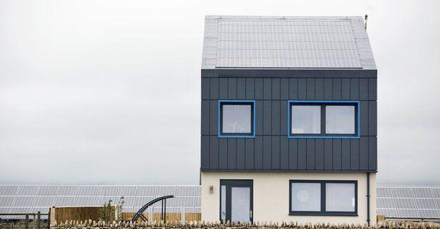 Экодом на солнечных батареях в Великобритании