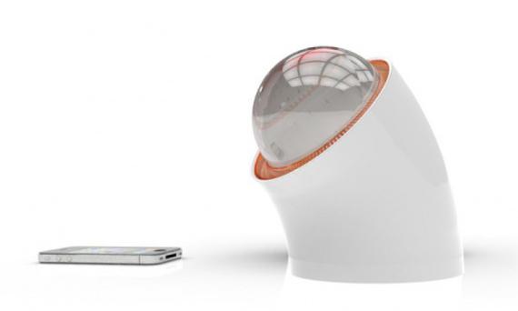 Rawlemon - хрустальный шар, как зарядное устройство
