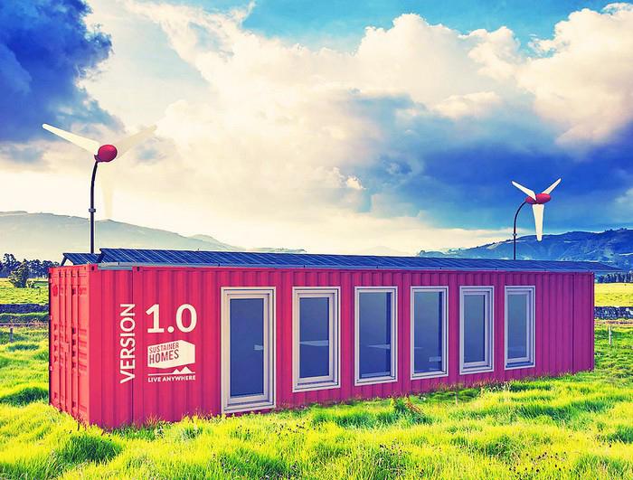 Мобильный экодом на солнечных батареях в Нидерландах