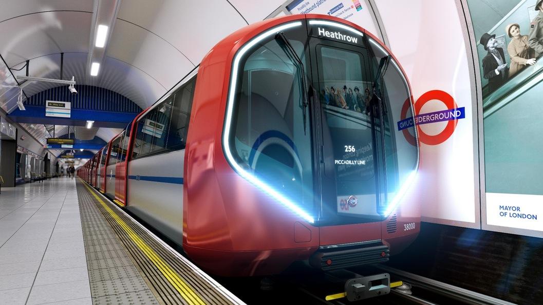 Поезд Лондонского метро обеспечивает энергией электростанции, вырабатывая энергию при торможении