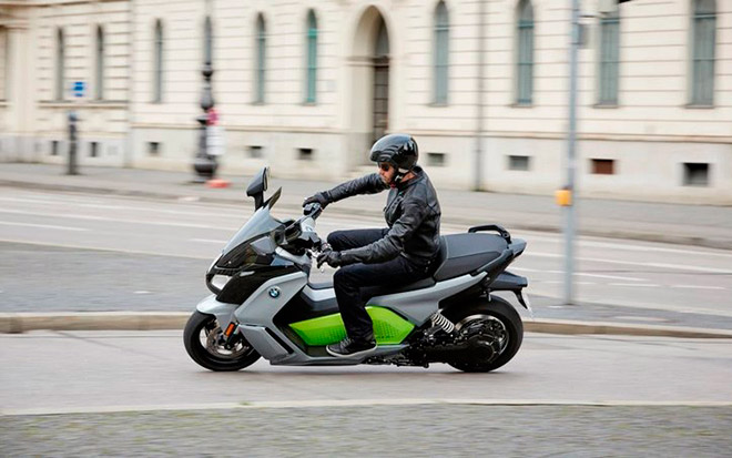 Электромопед BMW C Evolution