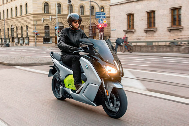 Электромопед BMW C Evolution