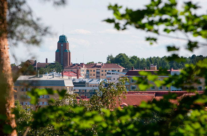Финский город Лахти