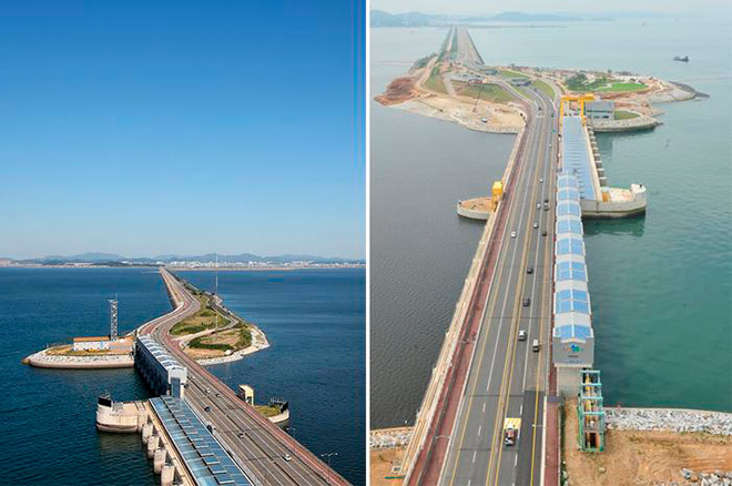Приливная электростанция в Южной Корее