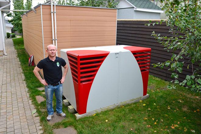 Тепловой насос и газовое оборудование
