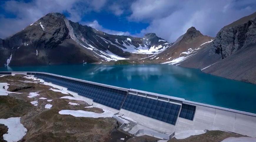 Дамбу в Альпах превратят в вертикальную СЭС